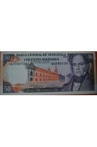 50 Bolívares Diciembre 8 1992 Serie Q7