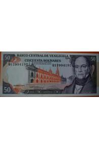 50 Bolívares Diciembre 8 1992 Serie Q8