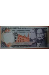 50 Bolívares Diciembre 8 1992 Serie S8
