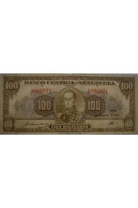 100 Bolívares  Diciembre 10 1941 Serie A6