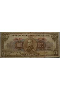 100 Bolívares  Abril 24 1942 Serie A6