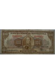 100 Bolívares  Marzo 17 1949 Serie B7