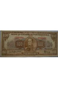100 Bolívares  Mayo 17 1951 Serie C6