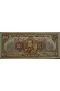 100 Bolívares  Enero 17 1952 Serie C6