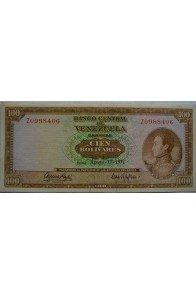 100 Bolívares  Agosto 17 1971 Serie Z7