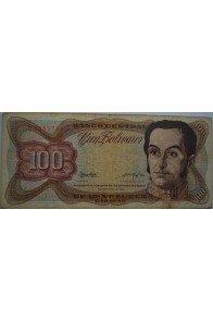 100 Bolívares  Noviembre 21 1972 Serie B7