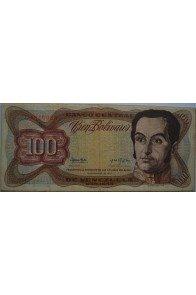 100 Bolívares  Noviembre 21 1972 Serie C7