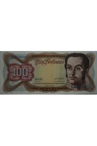 100 Bolívares  Enero 27 1976 Serie N7