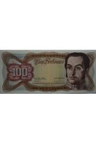100 Bolívares  Enero 27 1976 Serie Z7