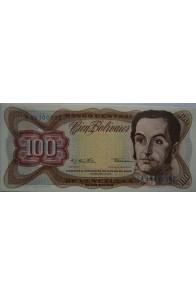 100 Bolívares  Diciembre 12 1978 Serie A8