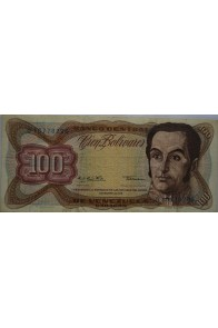 100 Bolívares  Diciembre 12 1978 Serie G8