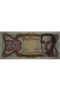 100 Bolívares  Diciembre 12 1978 Serie H8