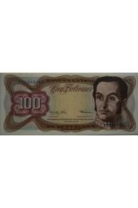 100 Bolívares  Diciembre 12 1978 Serie J8