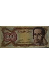 100 Bolívares  Diciembre 12 1978 Serie K8