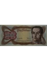 100 Bolívares  Diciembre 12 1978 Serie L8