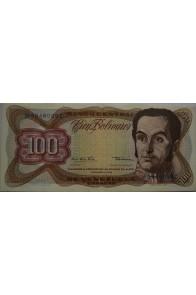 100 Bolívares  Diciembre 12 1978 Serie M8