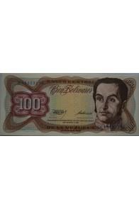 100 Bolívares  Septiembre 1 1981 Serie H8