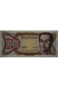 100 Bolívares  Septiembre 1 1981 Serie K8