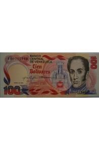 100 Bolívares  Enero 29 1980 Serie A8