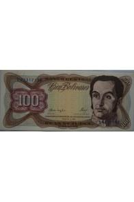 100 Bolívares  Febrero 3 1987 Serie Y8