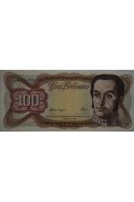 100 Bolívares  Febrero 3 1987 Serie A8