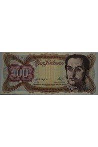 100 Bolívares  Febrero 3 1987 Serie B8