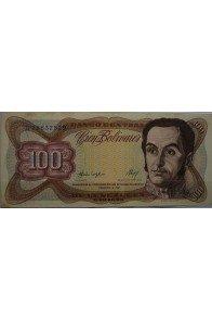 100 Bolívares  Febrero 3 1987 Serie G8