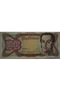 100 Bolívares  Diciembre 8 1992 Serie E8