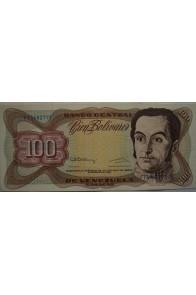 100 Bolívares  Diciembre 8 1992 Serie F8