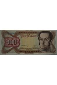 100 Bolívares  Diciembre 8 1992 Serie G8