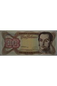 100 Bolívares  Diciembre 8 1992 Serie H8