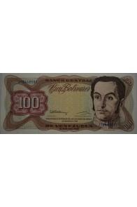 100 Bolívares  Diciembre 8 1992 Serie J8