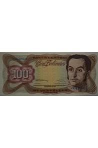 100 Bolívares  Diciembre 8 1992 Serie K8