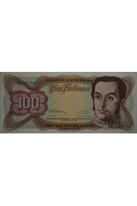 100 Bolívares  Diciembre 8 1992 Serie M8