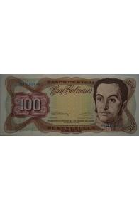 100 Bolívares  Diciembre 8 1992 Serie N8