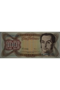 100 Bolívares  Febrero 5 1998 Serie E8