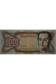 100 Bolívares  Febrero 5 1998 Serie G8