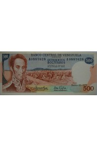 500 Bolívares  Enero 11 1972 Serie A7