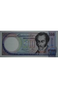 500 Bolívares Febrero 3 1987 Serie B8