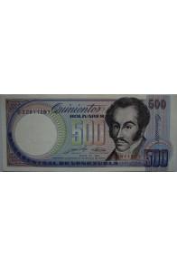 500 Bolívares Mayo 31 1990 Serie G8