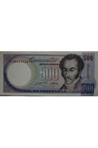 500 Bolívares Mayo 31 1990 Serie A8