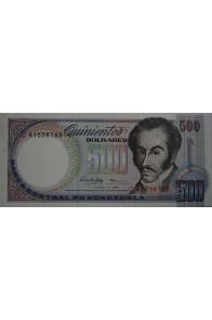500 Bolívares Junio 5 1995 Serie C8