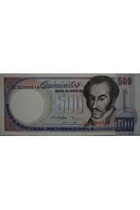 500 Bolívares Junio 5 1995 Serie D8