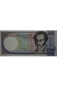 500 Bolívares Febrero 5 1988 Serie R8