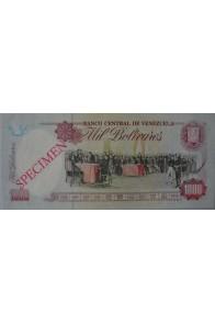 1000 Bolívares Modelo B