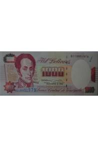 1000 Bolívares Diciembre 8 1992 Serie B9