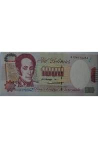 1000 Bolívares Febrero 5 1998 Serie K9