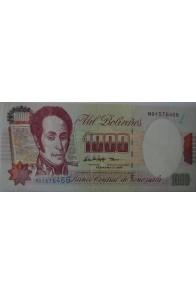 1000 Bolívares Febrero 5 1998 Serie M8