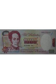 1000 Bolívares Agosto 6 1998 Serie N8