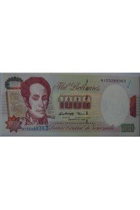 1000 Bolívares Agosto 6 1998 Serie N9